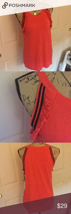 "Juicy Couture. New with tag. 26"" long. Nice coral color. Juicy Couture Tops"