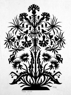 Traditional Lithuanian paper art