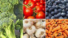 Una guía a todo color para comer siete frutas o verduras al día