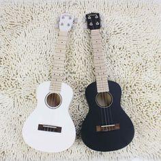 #Guitar, #Color Ukulele, #Handmade Ukulele