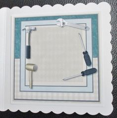 Male Card Handyman INSERT by Davina Rundle