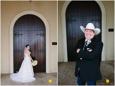 Billy & Tracy's Fun and Rustic Wedding // Chapel at Ana Villa, The Colony