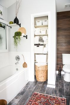 Master Bathroom Updates master bathroom renovation- how to achieve a farmhouse style
