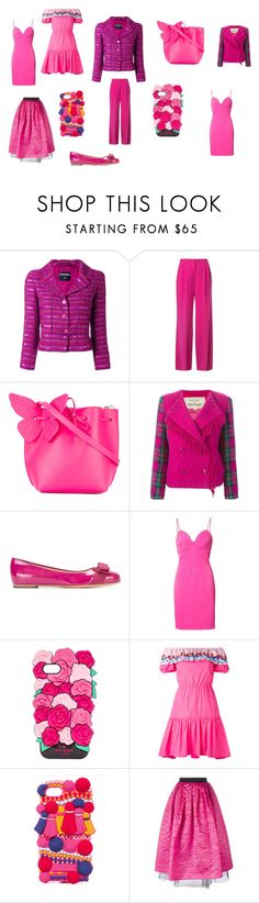"""Fashion fashinable"" by emmamegan-5678 ❤ liked on Polyvore featuring Chanel, Mary Katrantzou, Sophia Webster, JC de Castelbajac, Salvatore Ferragamo, ZAC Zac Posen, Kate Spade, Peter Pilotto, Marc Jacobs and vintage"