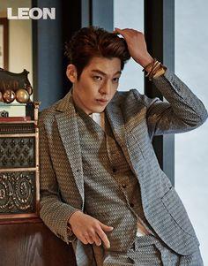Kim Woo Bin Is An Old School Rebel For LEON Korea's February 2014 Issue