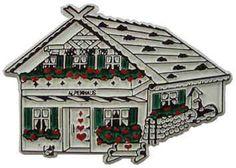 MGI Companies, Inc. - Alpine House Souvenir Magnet, $2.89 (http://www.internationalgiftitems.com/alpine-house-magnet)
