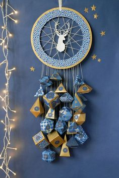 The dream catcher comes in every possible way! Make it yourself … – Welcome to Ramadan 2019 Advent Calenders, Diy Advent Calendar, Christmas Calendar, Diy Calendario, Calendrier Diy, Christmas Crafts, Christmas Decorations, Xmas, Christmas Inspiration