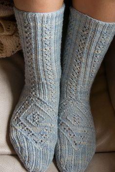 Ravelry: Crescendo! Socks pattern by Laura Jenkins