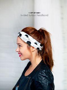MY DIY | Twisted Turban Headband - I Spy DIY