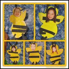 Manualidad escolar. Dibuja una abeja y pega una foto con tu cara.