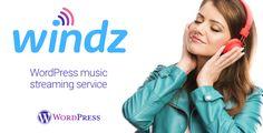 Windz - Music streaming service WordPress plugin . Turn ANY WORDPRESS THEME into a music streaming service, like Spotify, Apple music, Google Play Music, Microsoft Groove Music, Tidal, Deezer, Napster