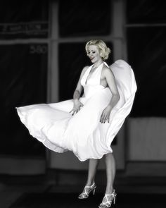 If you like my work, you can buy it at  james-sage.artistwebsites.com/ At B&C Camera, in Las Vegas, where I buy of my gear, Canon was demonstrating there new D7 Mark ii.  They had a very beautiful woman who was a great Marilyn Monroe look alike.  They recreated the blowing dress scene from Seven Year Itch, for us to shoot portraits.  It was fun.