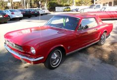 1965 Ford Mustang my favorite car ever!