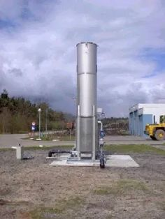 """Stack monitoring, or more correctly """"landfill gas flare monitoring"""", can only be carried out on enclosed flares. Environment Agency, Combustion Chamber, What Is Meant, Global Warming, Weather Conditions, Wind Turbine, Monitor, Flare"""