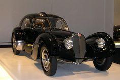 Black Bugatti Type 57