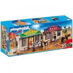 Poniedziałek:)     Bandyta może uciec z więzienia przez dającą się przełamać ścianę i ukraść złoto czy pieniądze z banku.     Z szeryfem z przenośnego miasteczka westernowo z zestawu Playmobil 4398 Western City możesz go powstrzymać.     Westernowa zabawa z końmi, pukawkami  czy bankiem gwarantowana:)    Zatrzymaj bandytę:)    http://www.niczchin.pl/klocki-playmobil/4243-playmobil-4398-przenosne-miasteczko-westernowe-playmobil-western.html    #playmobil #western #city #zabawki #niczchin…