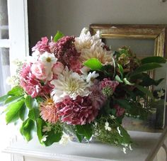 I need to plant more dahlia's! the soft autumn bouquet - Sharon Santoni