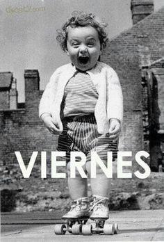 Por fin es #VIERNES!!