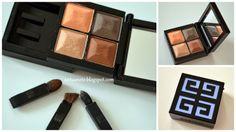 Givenchy  LE PRISME eyeshadows - 76 Siena Silhouette. Atsauksme blogā www.antuanete.blogspot.com