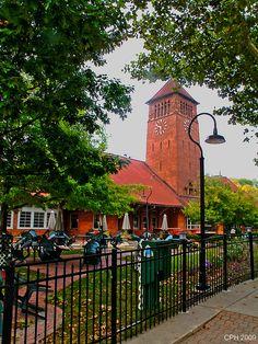 Battle Creek MI, Clara's on the River Restaurant (old Michigan Central RR station) by Houckster, via Flickr