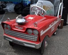 Just a car guy : pedal cars at the annual Qualcomm stadium swap ...