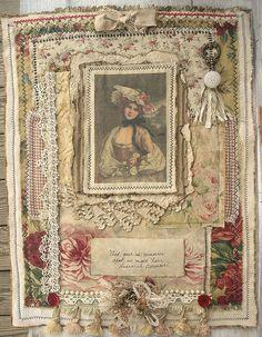 Roses Collage - Gail Schmidt