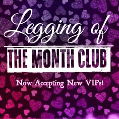 Interested in joining Buskins Legging of the Month Club? Buskins is now accepting new VIP members! Info Located under SPECIALS on your website! ☆Must join BEFORE the 1st to get the next Shipment :) ☆Available to everyone! https://legginglife87.mybuskins.com/category/190-legging-club.aspx