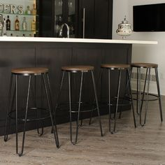 "Kate and Laurel Tully 30"" Bar Stool"