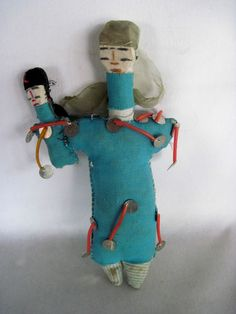 Vintage weird Egyptian Doll, sold by a persistent merchant at the opening of King Tut's Tomb.