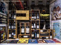 wine shop window paris pictures