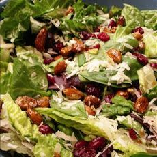 Cranberry Almond Lettuce Salad Recipe...very good. dressing would be good on any salad