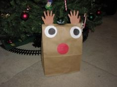 This would be a perfect way for him to wrap all the gifts he makes and gives. It's cute and easy and best of all will help keep him constructively busy at times I am sewing and knitting.