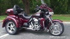 New 2014 Harley Davidson Tri Glide Motorcycles for sale - Elfers, FL
