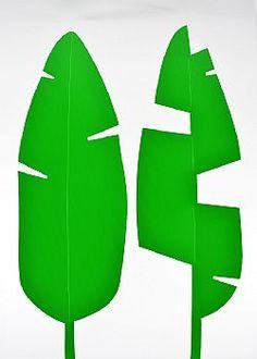 Feeling Tropical - Σετ 2τχ Φύλλο Μπανανιάς PVC Πράσινο 67x41cm Table Lamp, Home Decor, Table Lamps, Decoration Home, Room Decor, Home Interior Design, Lamp Table, Home Decoration, Interior Design