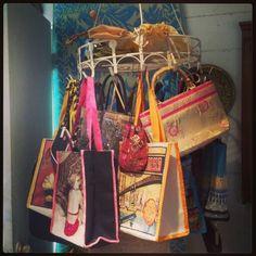 A fabulous assortment of purses!