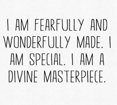 The Lord made you different, special. The best person you can be is yourself! #BEYOU #beYOUtiful