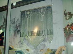 One of my favorite props from LOTR - Arwen's bedroom banner.  NM35.jpg 1,600×1,200 pixels