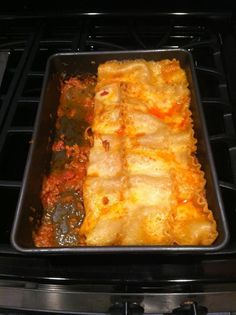 Lasagna without ricotta cheese (Tried 8/28/14)