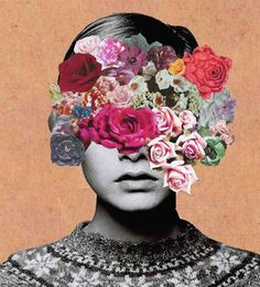 Flowers, face, Inspiration