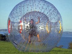 zorb zorb I reallllly want a ZORB Ball!- zorb zorb I reallllly want a ZORB Ball! 🙂 - zorb zorb I reallllly want a ZORB Ball! Student Council Activities, Party Organisers, Bouncy House, Space Projects, Giant Inflatable, Play Equipment, Funny Times, Water Games, Summer Bucket Lists