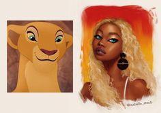 Artist Turns Disney Animals Into Humans in Stunning Art | Inside the Magic