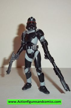 star wars action figures CLONE TROOPER SHADOW UTAPAU 2006 30th anniversary