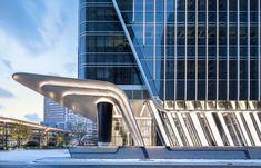 Gallery of Shanghai Xujiahui Centre, Lot I & II / Ronald Lu & Partners - 16 Architecture Building Design, Canopy Architecture, Building Facade, Facade Design, Futuristic Architecture, Amazing Architecture, Building Elevation, Gothic Architecture, Shanghai