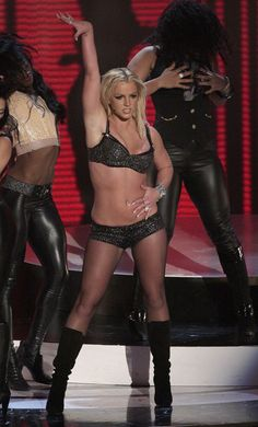 Britney Spears Gimme More 2007 Mtv Vma 2007