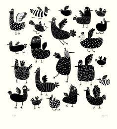 Toutes les poules... reconnaitrez-vous les races?