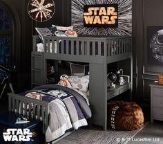 Star Wars™ Hyperdrive Mural | Pottery Barn Kids