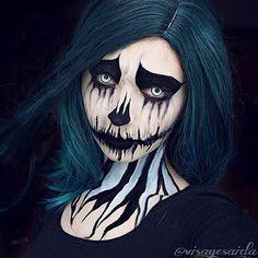 Фотоальбом «Макияж на Хэллоуин» фото, пользователя «Krista»