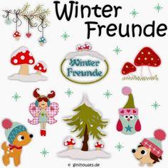 Stickdateien ★ WinterFreunde ★ - ginihouse3