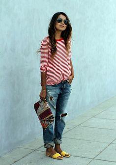 45 Fashion-Forward Boyfriend Jeans Outfits Ideas - Latest Fashion Trends
