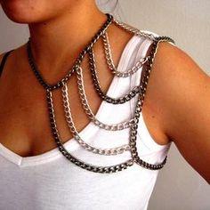 body harnessrevolucionarán para siempre la manera en que usas tus accesorios. Collares Pulseras.
